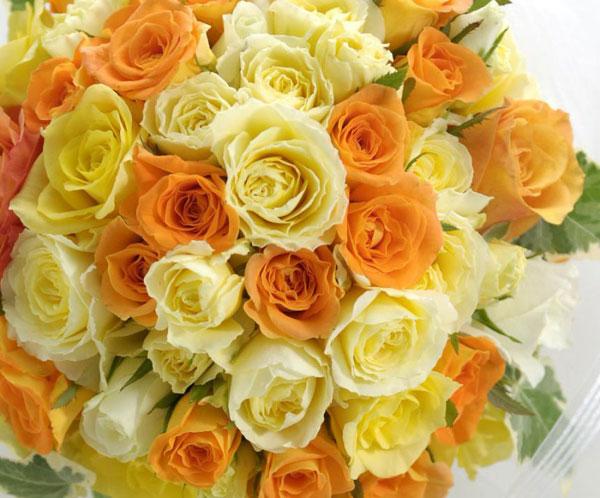 黄色のお花をメインに超かわいい花束を作る7つのコツ☆