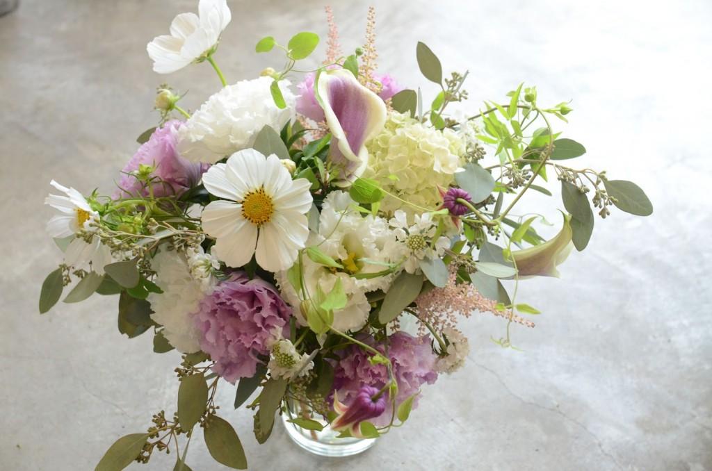秋の花を使った結婚式のブーケの作り方、色別7選☆
