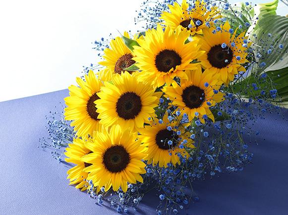 夏花は誕生日を華やかに!おススメ7つの組み合わせ