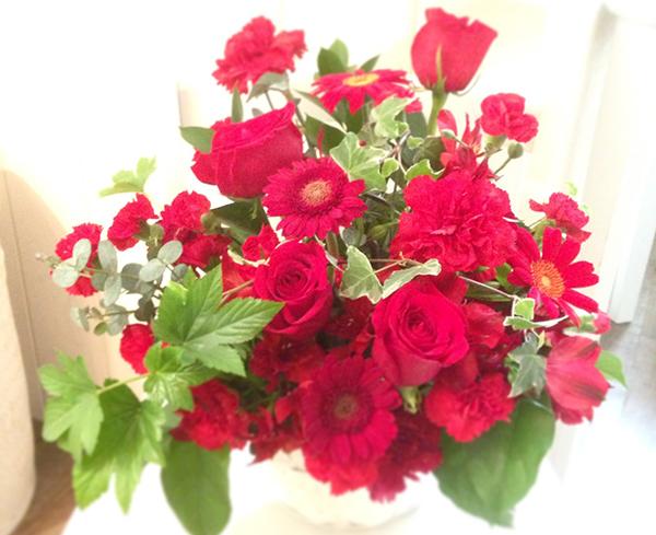 赤い花に花言葉を添えて贈るなら☆相手別おすすめ7種類