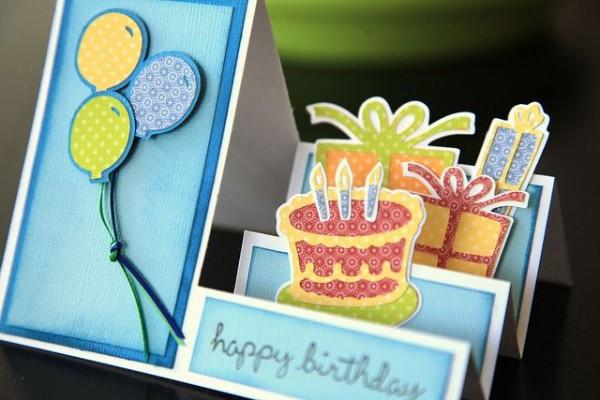 誕生日カードを手作りで☆おススメ7つのアイデア集