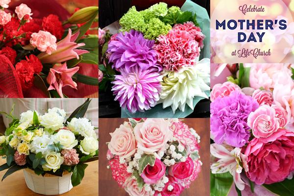 母の日の花贈り☆カーネーションと7つの組み合わせ