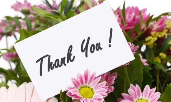 感謝を花言葉で伝えたいとき贈る花7選