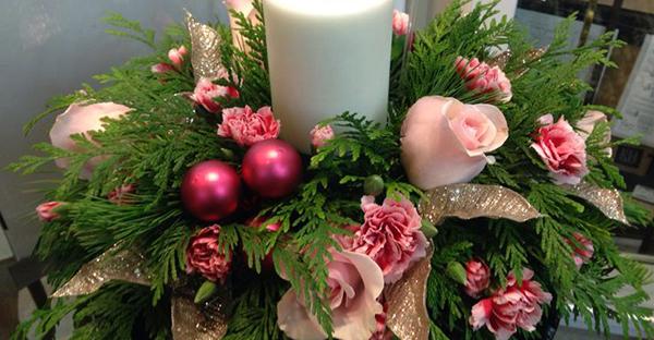 12月の花贈り☆イベントをさらに盛り上げる花々とは